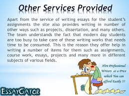 Get help in your essay writing and other assignments from the experts       The Essay