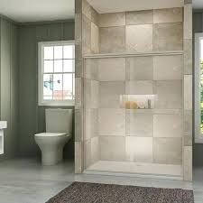 sliding shower door sunny shower new semi 2 sliding shower door clear glass brushed nickel finish sliding shower door sliding shower doors frameless