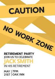 Retirement Celebration Invitation Template 100 Fully Customizable Retirement Invitation Templates