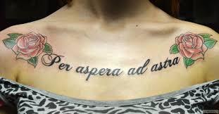 две розы и надпись Per Aspera Ad Astra добавлено екатерина невьянцева