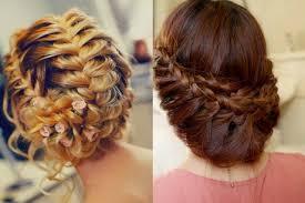 Coiffure Cheveux Mi Long Tresse Chignon