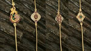 Latest 1 Gram Gold Thali Chain With Price 1 Gram Gold Jewellery Collection