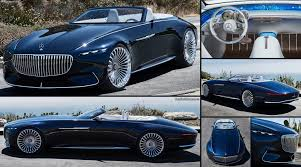 2018 maybach land yacht. wonderful 2018 mercedesbenz vision maybach 6 cabriolet concept 2017 intended 2018 maybach land yacht