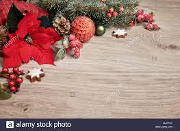 Holz Hintergrund Mit Weihnachtsstern Weihnachtsstern