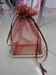 wedding return gift pouch