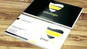 2 Sided Business Card Template Two Sided Business Cards Outstanding