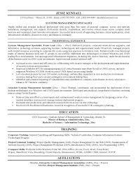 Storage Architect Resume Letter Resume Directory