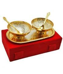 Ellegent Exports 1 Pcs Brass Soup Bowl 100 Ml Buy Online At Best