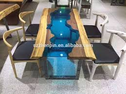 dining room table glass inlay. solid wood dining table glass inlaid dinning raw slab with inlay room i