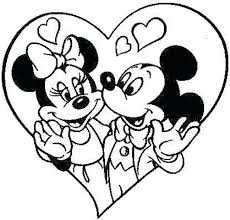 Baby Minnie Mouse And Mickey Mouse Coloring Pages Opticanovosti