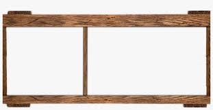 rustic wooden frames png creative