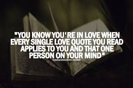 You Know You Re In Love When Quotes Delectable You Know You're In Love When Every Single Love Quote You Read