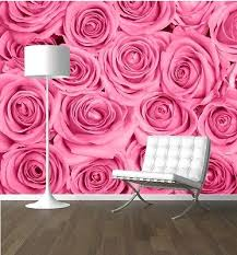 Small Picture Roses close up Flower wallpaper mural feature wall design wm353