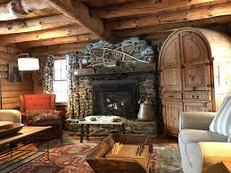 stowe vermont authentic private log cabin fireplace hot tub cabin fireplace t27 fireplace