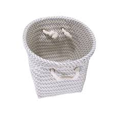 woven basket with lid. Round Woven Basket With Lid