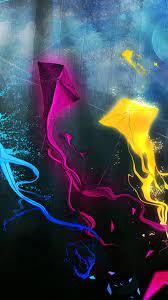 Kites Hd Wallpaper Download For Mobile ...