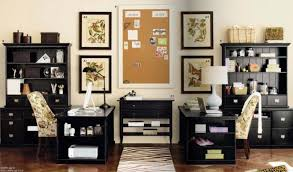 home office designs for two. Office Ideas, Elegant Home Design With Two Desks For Computers: Creative Ideas Furniture Cozy Style Designs N