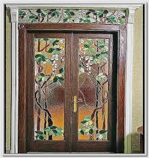 entry door glass inserts and frames beautiful stained glass front door handballtunisie
