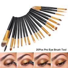 image is loading 20pcs pro eye makeup brush set eye shadow