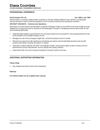 Aircraft Engineer Resume