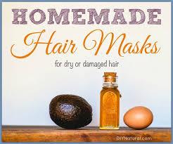 homemade hair mask several recipes for