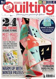 Issue 29 on sale! - Love Patchwork & Quilting & Love Patchwork & Quilting issue 29 COVER Adamdwight.com