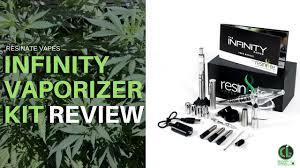 infinity vape. infinity vaporizer kit review | resinate vapes cannabis lifestyle tv vape a