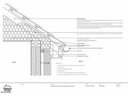 metal framing details. Typical Eaves Detail With Render Wall Finish Drawing 1 Hour Roof . Overhang Framing Metal Details I