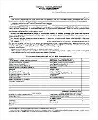 Asset Statement Template Plus Individual Financial Statement Form ...