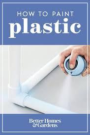 spray paint plastic pvc trim