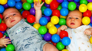 ball pit for babies. giant baby ball pit surprise toys newborn disneycartoys baby alltoycollector cousins crib play twins - youtube ball pit for babies