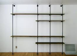 iron pipe bookcase and black iron pipe bookshelves