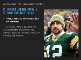Football Quotes By Players Impressive NFL's Top 48 Memorable Quotes From Players And Coaches