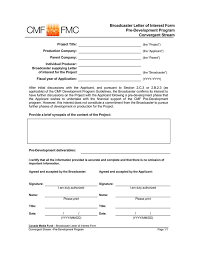 Microsoft Candidate Interest Form 38 Letter Of Interest Samples Examples Writing Guidelines