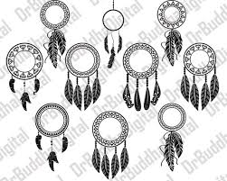 What Stores Sell Dream Catchers Sale Dream Catcher Monogram Frame SVG Collection Feather 62