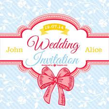 wedding designs. Decorative floral wedding card Vector Free Download