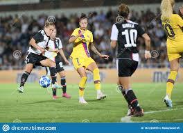 Fußball-Champions League Women Juventus Women / Barcellona Redaktionelles  Stockbild - Bild von meister, frauen: 161220559