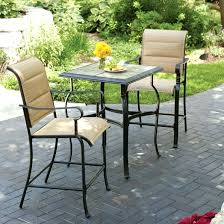 small outdoor table patio and 2 chairs furniture chair sets iron round garden