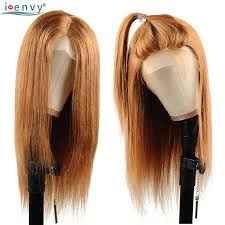 <b>Ienvy</b> Colored 1B 30 Ombre Human Hair <b>Lace</b> Wig Brazilian Straight ...