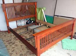 Build A Mission Style Bed FineWoodworking In Queen Frame Remodel 5 ...