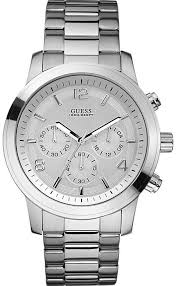 men s guess bold sport chronograph watch u13577g1