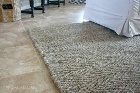 new herringbone jute rug