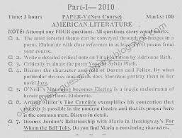m a english past papers american literature maenglishpk m a english 1 past papers american literature
