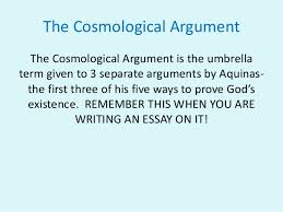 the cosmological argument russell and copleston debate 4 the cosmological argument