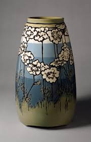 vase paul revere pottery sara galner work of art  vase