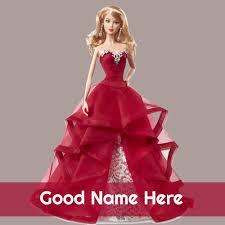 Write Name On Cute Wedding Doll Whatsapp Profile Pictur
