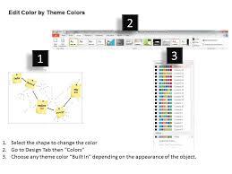 0514 Pert Chart Template Diagram Powerpoint Presentation