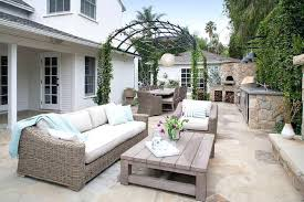 restoration hardware outdoor pillows arched pergola with outdoor kitchen and corner pizza oven restoration hardware outdoor restoration hardware