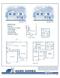 modern 3 bedroom house plans no garage awesome adams homes 1755 floor plan lovely modern zero
