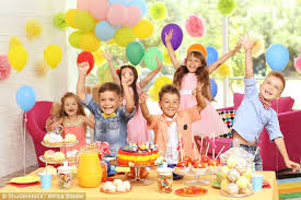 Child S Birthday Party Childrens Birthday Parties Cost Families 218 Daily Mail